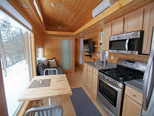 The Traveler XL at Canoe Bay's ESCAPE Village feels
