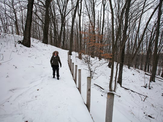 Trails in the Chippewa Moraine State Recreation Area