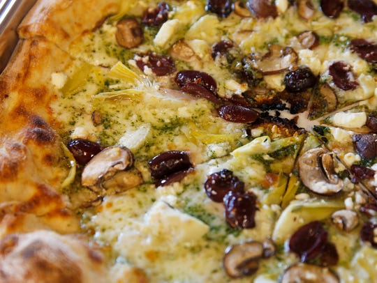 The pesto pie by Taft's Brewpourium in Spring Grove