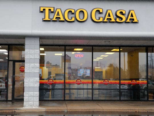 Taco Casa in Norwood. The restaurant is celebrating