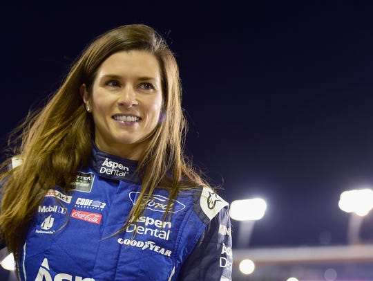 Race car driver Danica Patrick, who grew up in Illinois,