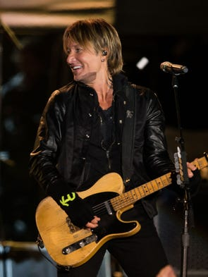 Keith Urban performs during the Jack Daniel's Music