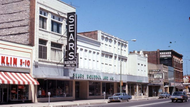 """Sears was a shopping mecca in downtown Fond du Lac's pre-mall heyday. Fond du Lac County Historical Society's Tracy Reinhardt will present """"Let's Go Downtown,"""" a Fond du Lac Picture Show, at 2 p.m. and 6 p.m. Thursday, Nov. 16, at the Fond du Lac Public Library."""