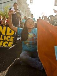Francisca Porchas, activista, fue una de las arrestadas
