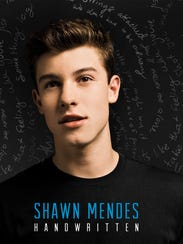"The cover of Shawn Mendes' album ""Handwritten."""