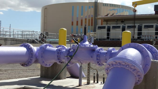 Las Cruces' East Mesa Water Reclamation Facility.
