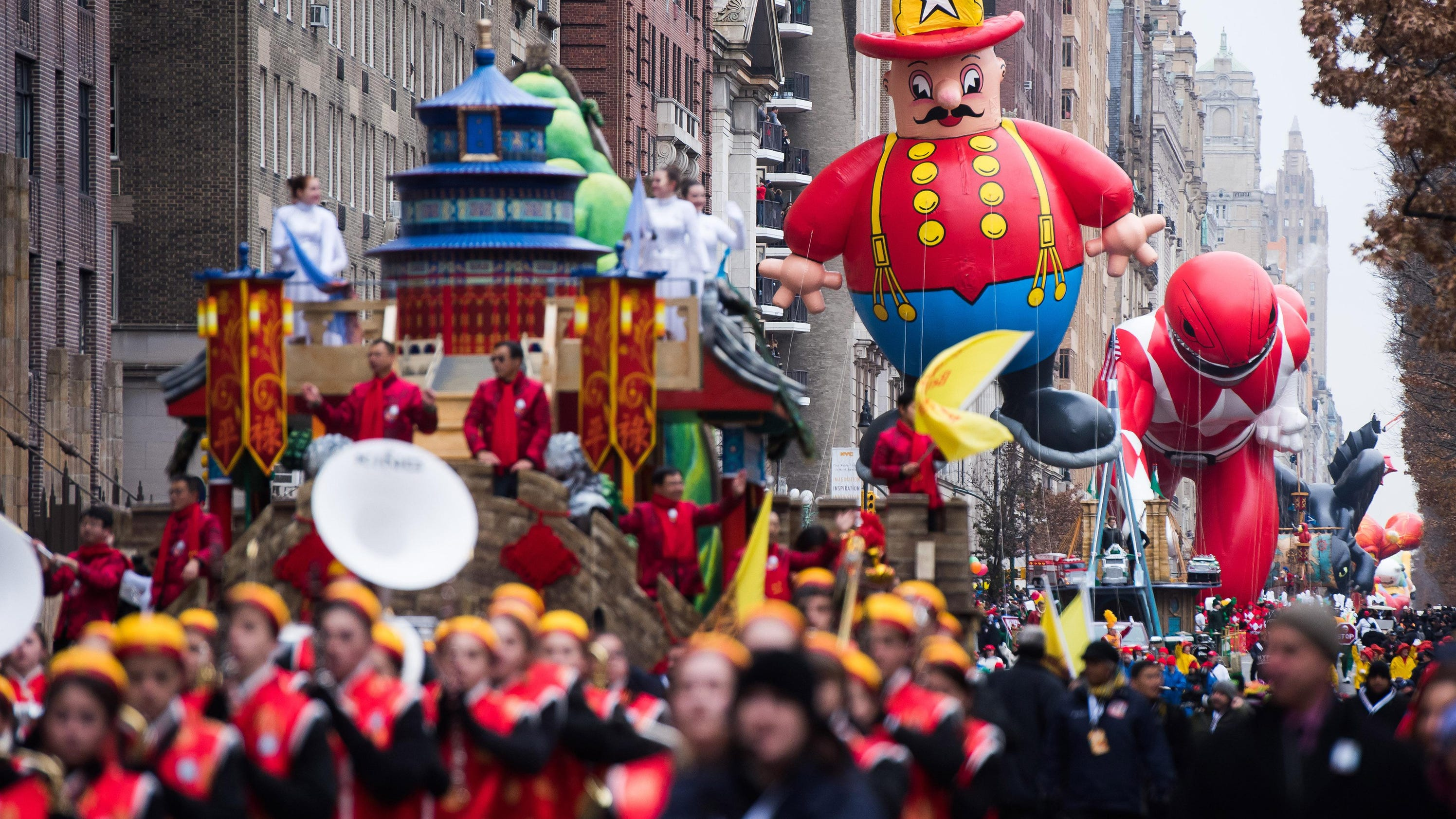 TV: Watch 'Thanksgiving parade' on NBC and CBS