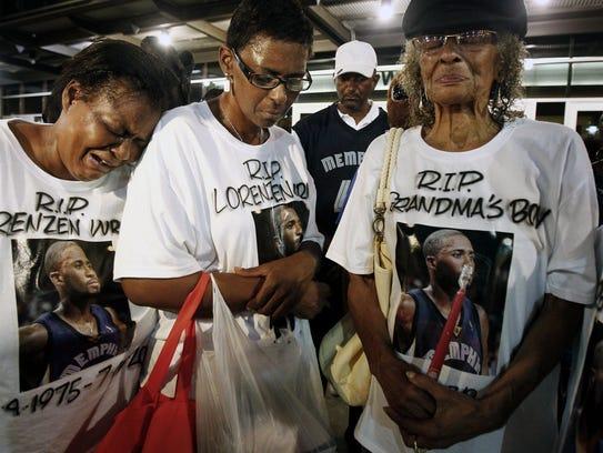 July 28, 2011 - Slain NBA star Lorenzen Wright's Aunt
