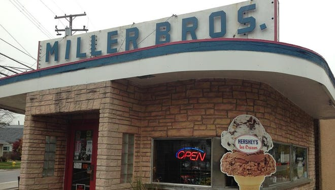 Miller Bros Creamery, in Mount Clemens, which is up for sale.
