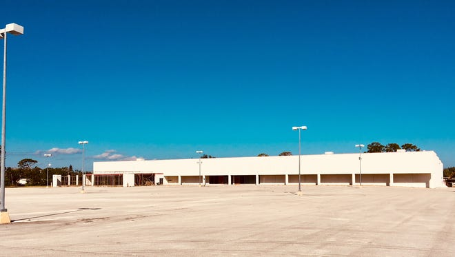 A commercial real estate investment company hopes to develop a self-storage warehouse facility on the site of this former Kmart store at 810 Cheney Highway/State Road 50in Titusville.