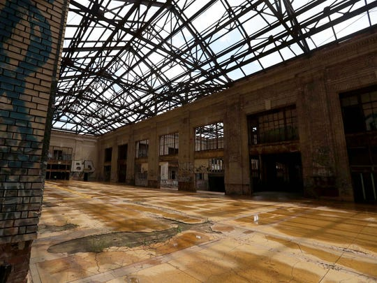 The 13th floor of Michigan Central Station in Detroit