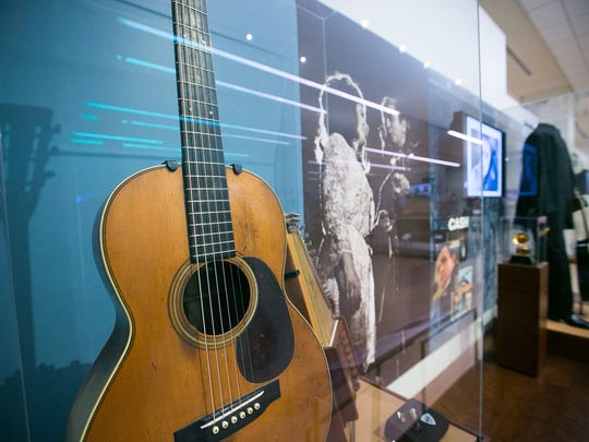 The Musical Instrument Museum, which is celebrating its fifth anniversary this week, has 15,000 music-related items in its collection, including an acoustic guitar that belonged to Johnny Cash.