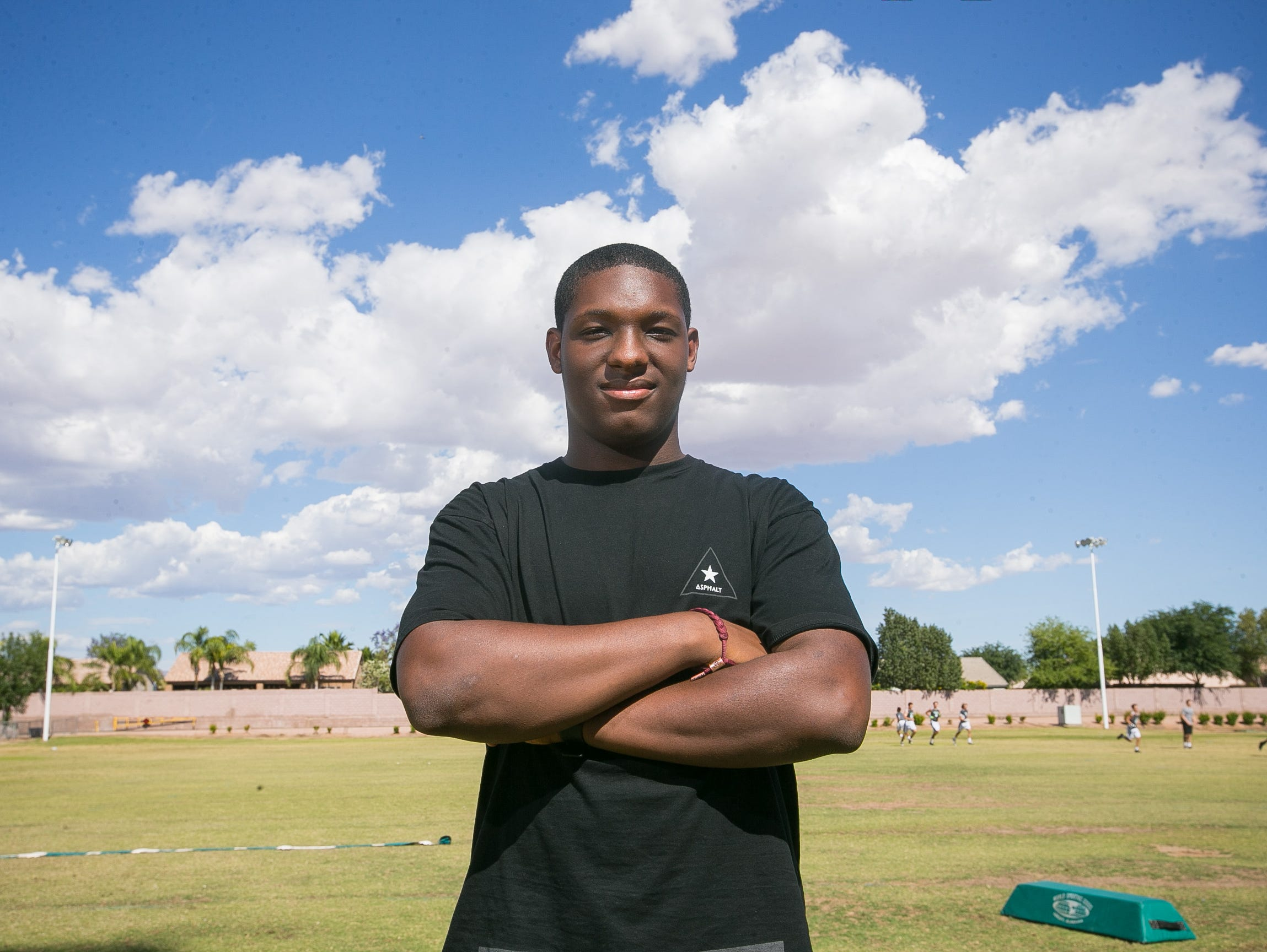Here is a look at Richard Obert's top 10 receivers for the 2015 Arizona high school football season.