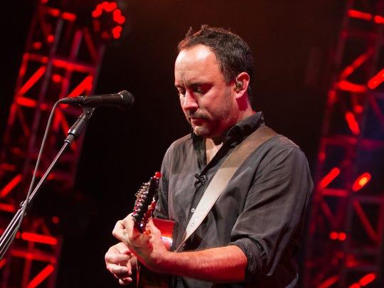 The Dave Matthews Band performs at Ak-Chin Pavillion,