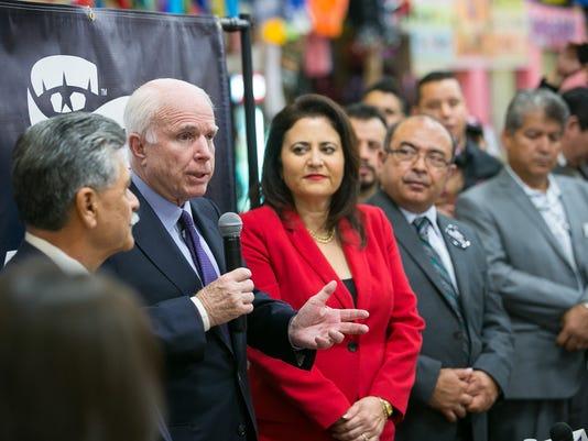 McCain in west Phoenix