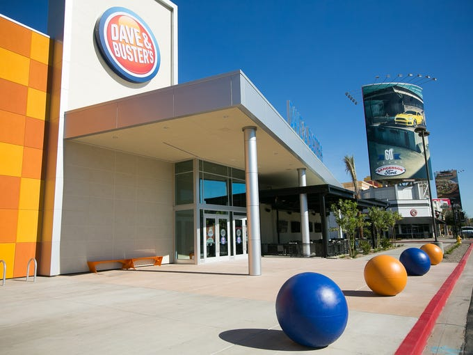 The new Dave and Buster's at the Westgate Entertainment
