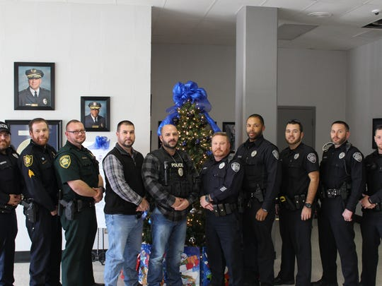 Police Chief Julian Wiser and Sheriff John Mehr suspended their departments' clean-shaven policy during November to allow employees to participate in the Relay for Life Team's fundraiser for the American Cancer Society.