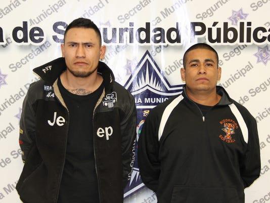 Juárez shooting suspects