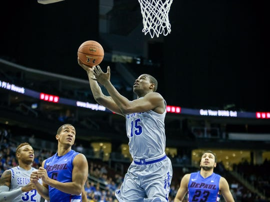 Isaiah Whitehead posted 18 points and 9 assists vs. DePaul.