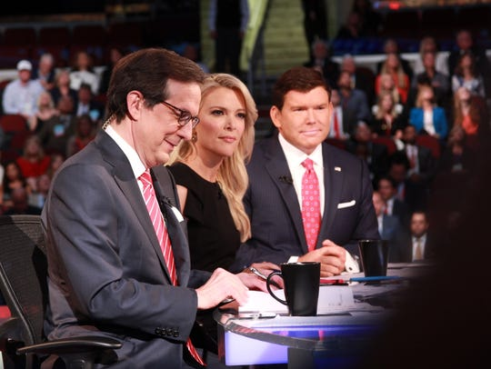 The Fox News moderators for the first Republican presidential