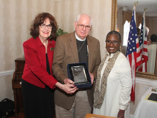 St. Paul's Episcopal Church was honored with the Design