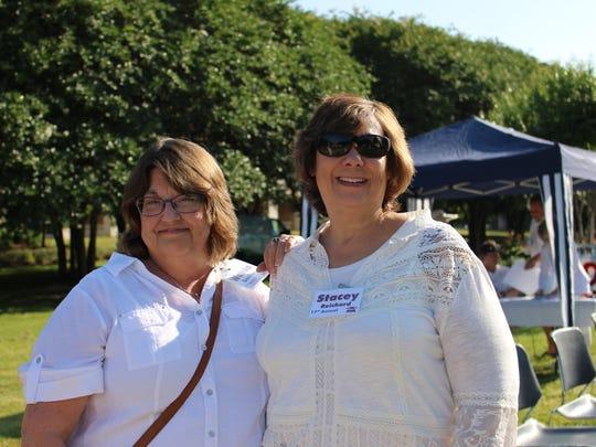 Wanda Goodman and  Stacey Reichard Community Renewal Croquet Classic.