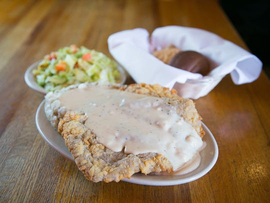 Chicken-fried steak is a star dish at Texaz Grill in Phoenix.