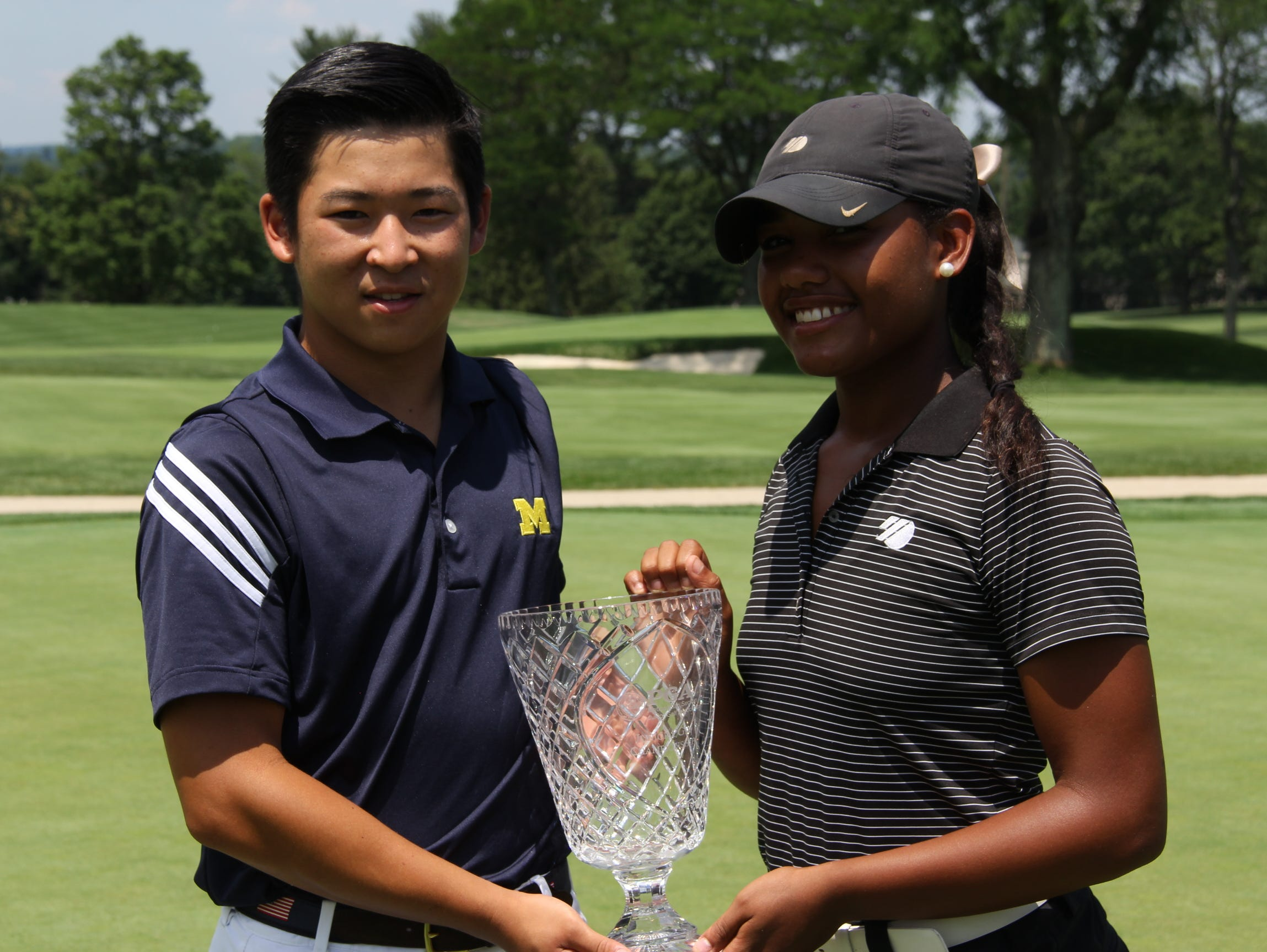 Brent Ito and Kyra Cox won Met Junior PGA titles on Wednesday at Metropolis Country Club.