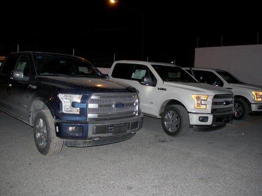 recovered trucks