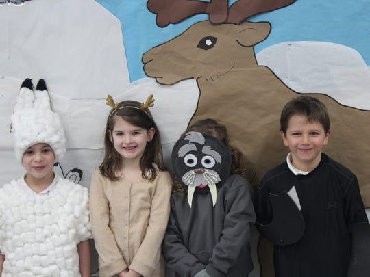 Kids at All Saints Catholic School took on the Arctic.
