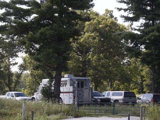 Greene County deputies said construction workers found
