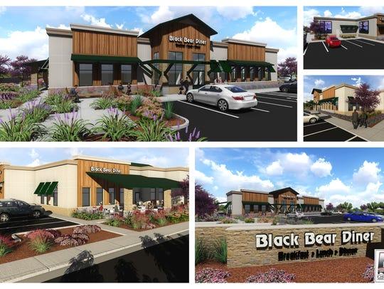 Black Bear Diner broke ground on Wednesday for a second