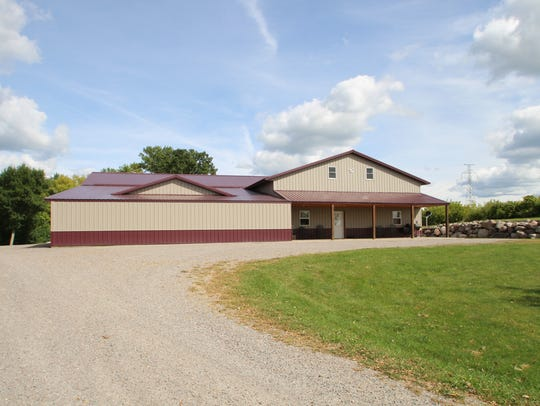 A large outbuilding can be home to your hobbies at