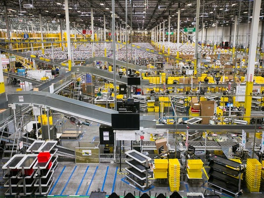 Amazon Phoenix fulfillment center