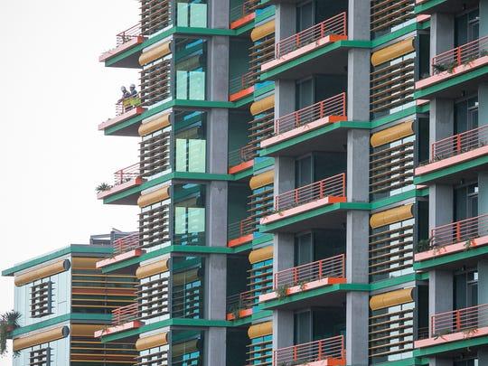 Optima Sonoran Village apartments in Scottsdale on Jan. 27, 2015.