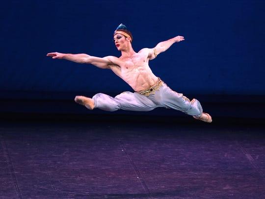 Let Ballet Trockadero, an all-male ballet company,