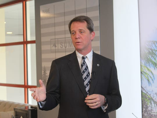Rep. James Smith, a Democrat who is running for governor,