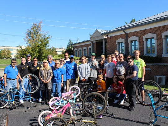 Pedals for Progress will be holding a used bike collection.