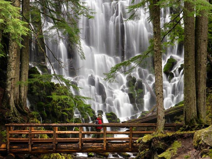 Ramona Falls, Oregon: Follow the Ramona Falls trail