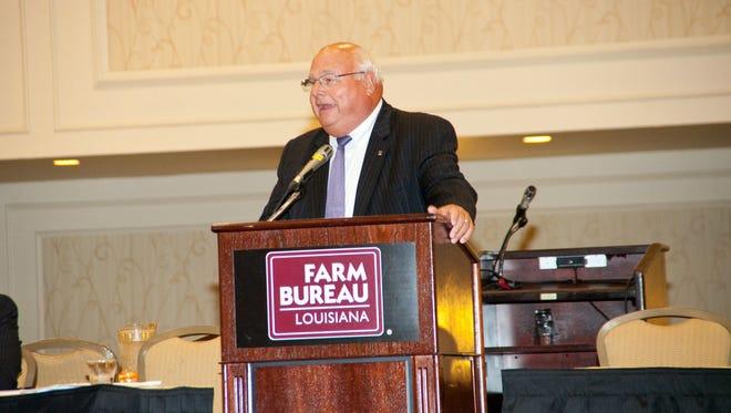 Ronnie Anderson, Louisiana Farm Bureau president