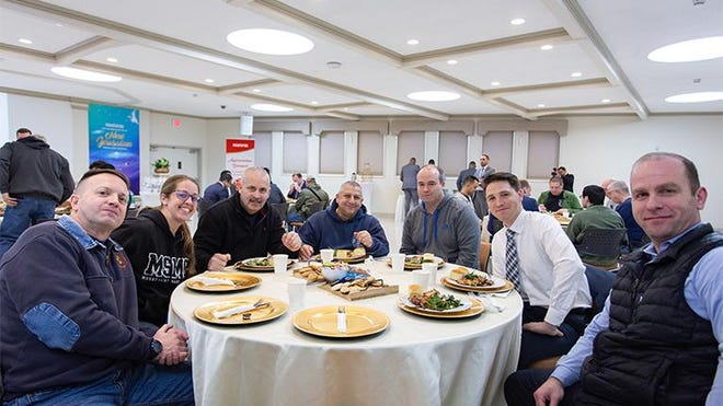 On Feb. 24, the World Mission Society Church of God hosted an appreciation banquet in honor of the Vails Gate Fire Department.