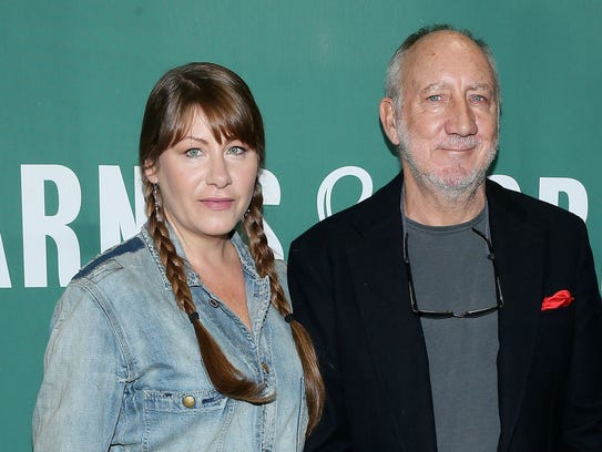 PeteTownshend (r) tapped his musically accomplished