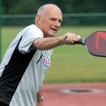 Pickleball is one of a variety of activities taking place weekly at the Milton Community Center.