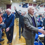 Leahy, Sanders, Welch play to packed house