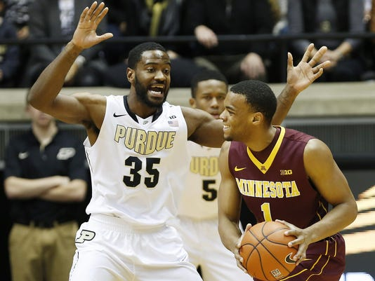 LAF Purdue men's basketball gamer Minnesota Dec 31