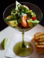 The Shrimp Cocktail at Ceviche Bar in Des Moines East