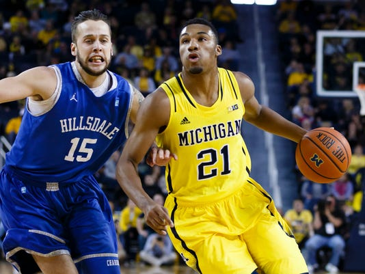 NCAA Basketball: Hillsdale at Michigan