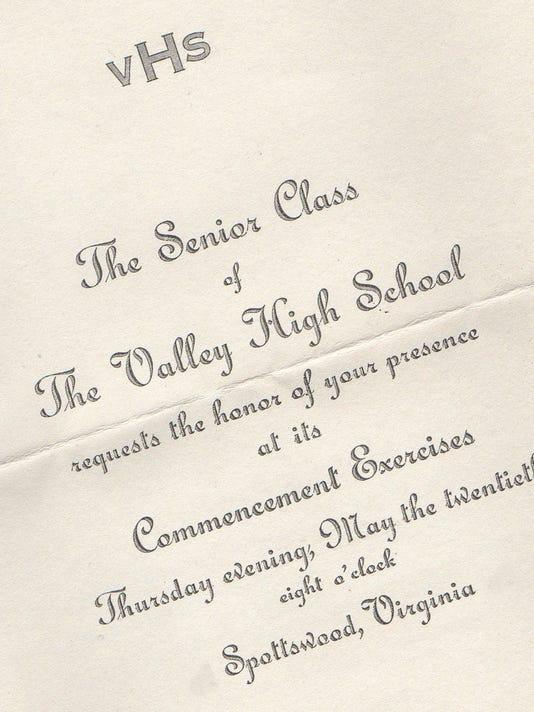 VHSgraduation invite
