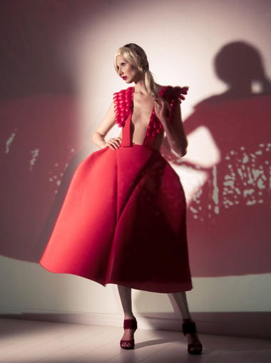 Mariapia Malerba makes haute couture out of recycled