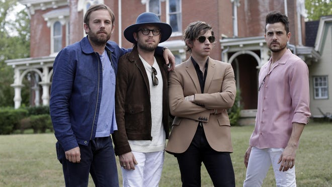 Kings of Leon play Riverbend on Aug. 11. Tickets go on sale Friday.